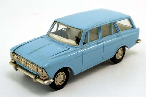 Moskvich-426 blue (metal bottom) Agat Tantal Made in USSR 1:43
