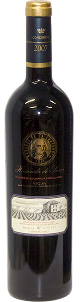Вино Маркиз Де Ла Конкордия Асиенда де Сусар 2007г в п/к