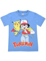 MK002F-6 футболка детская, голубая