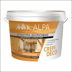 Штукатурка для внутренних и наружных работ ALPA Crepi deco (белый)