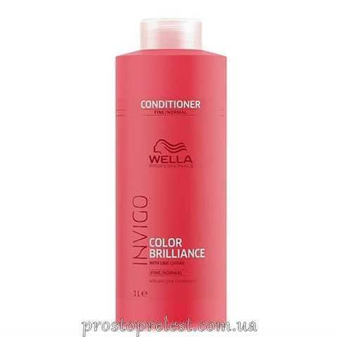 Wella Invigo Color Brilliance Conditioner Fine - Кондиционер для тонких и нормальных окрашенных волос