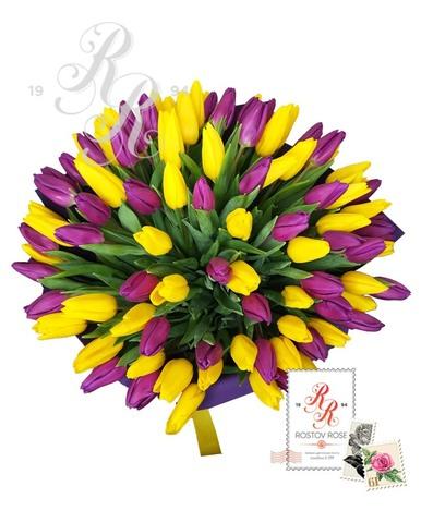 101 Фиолетово-желтый микс