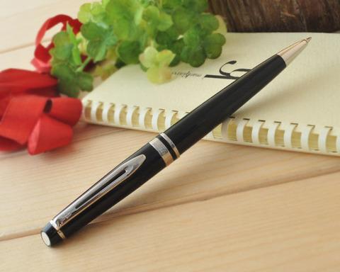 Шариковая ручка Waterman Expert 3, цвет: Black CT, стержень: Mblu123