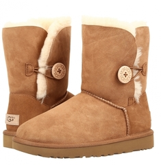 Непромокаемые UGG Bailey Button Chestnut II