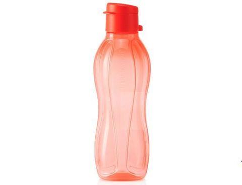 Эко-бутылка (500 мл) в коралловом цвете