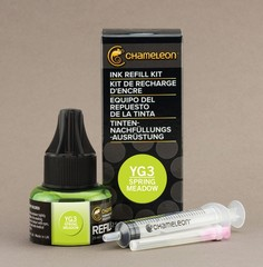 Чернила для маркеров Chameleon весенний луг YG3, 25 мл