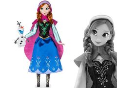 Кукла Анна с питомцем Disney Холодное сердце
