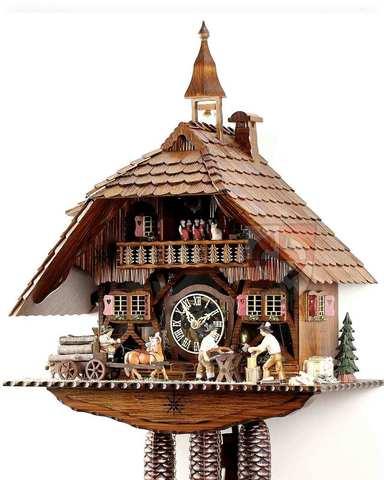 Часы с кукушкой Anton Schneider 8TMT-1595/9