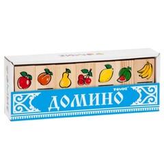 Домино для детей Фрукты-ягоды, Томик