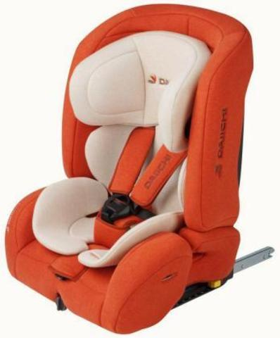 Детское автокресло DAIICHI D-Guard Toddler (ISOFIX) Organic Pure Orange