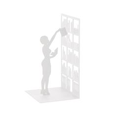 держатель для книг «the library», белый