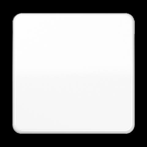 Выключатель одноклавишный проходного типа. 10 A / 250 B ~. Цвет Белый. JUNG CD. 506U+CD590WW