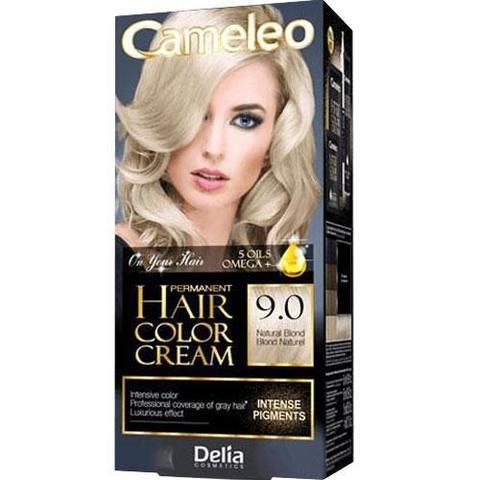 Delia Cosmetics Cameleo Крем-краска для волос тон 9.0 натуральный блондин