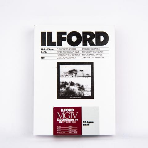 Фотобумага Ilford MG IV RC Portfolio Pearl 13x18 см, 100 л.