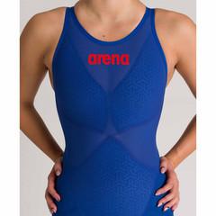 НОВИНКА 2020!!! Стартовый костюм ARENA Women's Powerskin Carbon Glide Open Back - FINA approved blue ocean ПОД ЗАКАЗ