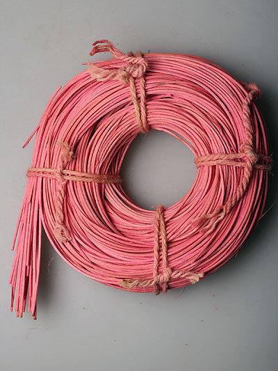 Моток ротанга 112202 розовый