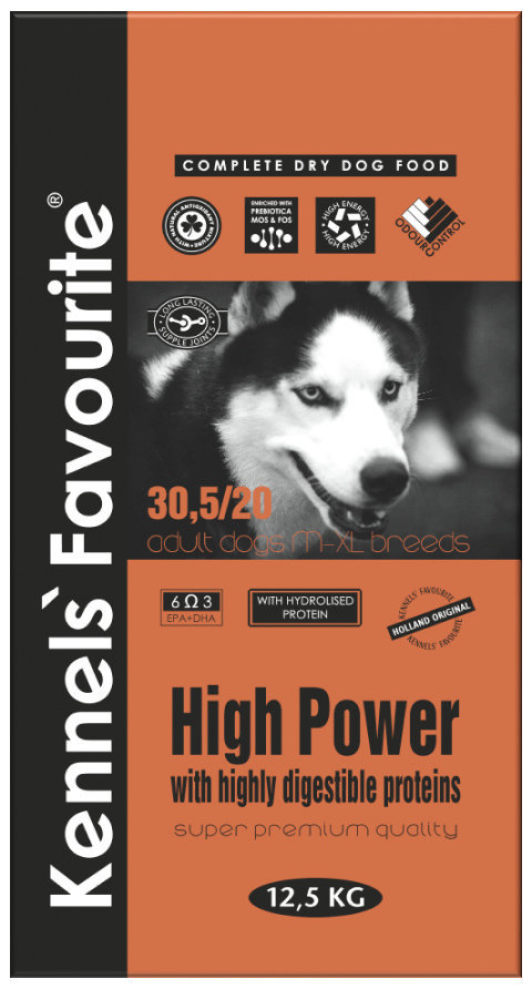 Корм для активных собак Kennels` Favourite High Power 21.970.jpg