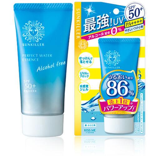 Isehan Sunkiller Perfect Water Essence SPF50+ солнцезащитная эссенция 50 мл