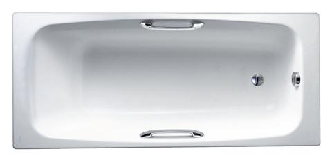 Чугунная ванна Jacob Delafon DIAPASON 170x75 с ручками