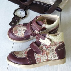 Ботинки для девочек для коррекции плоскостопия