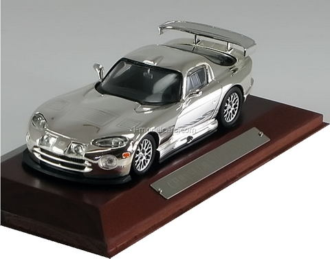 Chrysler Viper SRT-10 2000 chrome Altaya 1:43