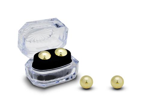 Тяжелые вагинальные шарики металлические (2 см.; Вес 119 гр.)