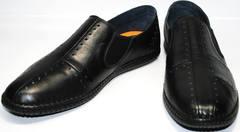 Кроссовки casual мужские Luciano Bellini 107607 Black.