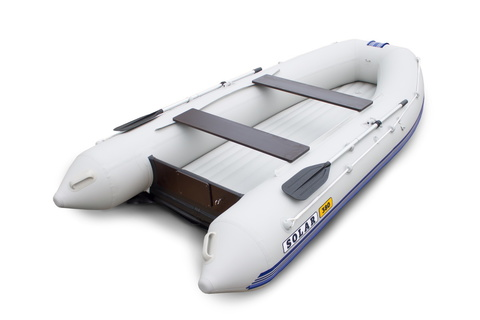 Лодка надувная моторная SOLAR 380 ОПТИМА