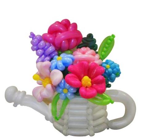 Букет цветов  Лейка