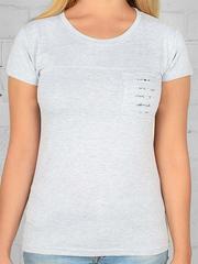 1604-13 футболка женская, серая