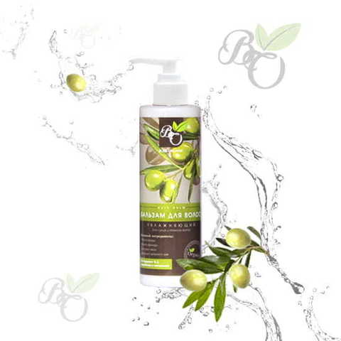 Органический бальзам для волос «Увлажняющий» для сухих и ломких волос, Bliss organic 200 мл