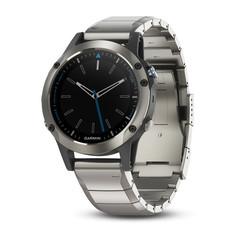 Спортивные часы Garmin Quatix 5 Sapphire для морских путешествий и рыбалки 010-01688-42