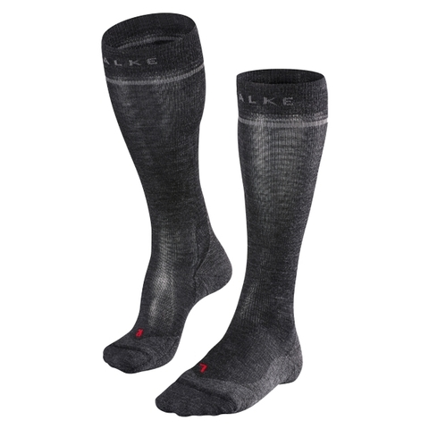 Falke Socken Women Energizing Wool asphalt