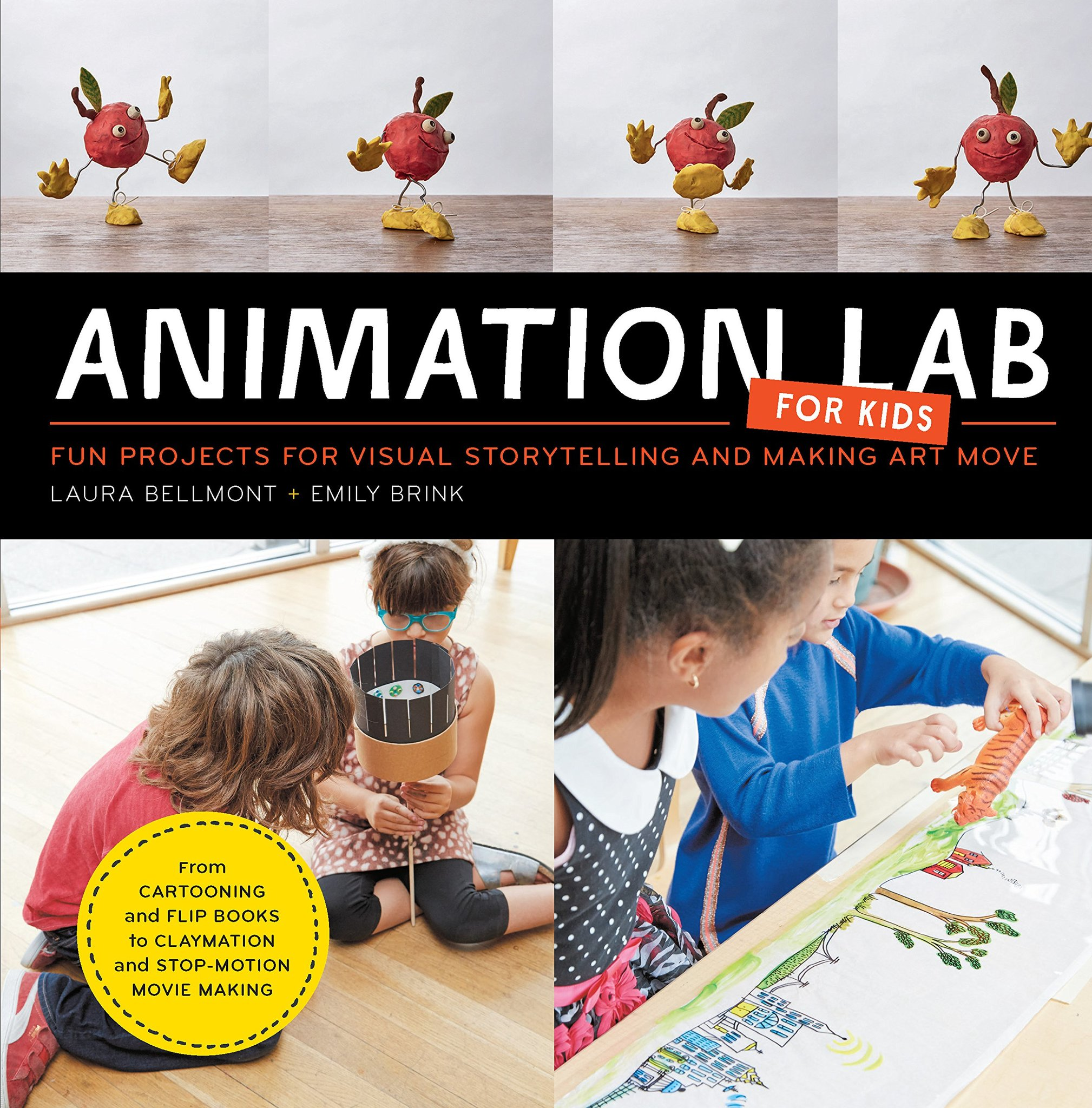 Книга Animation Lab for Kids: Fun Projects for Visual Storytelling and Making Art Move
