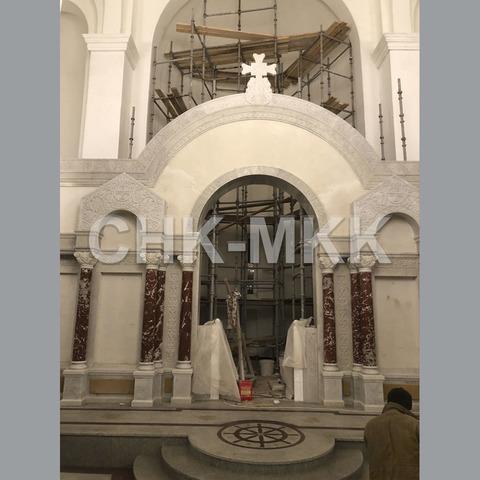 Иконостас в Храме Федора Ушакова г.Москва