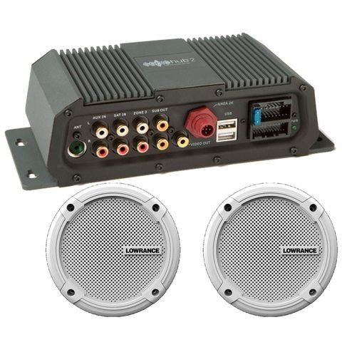 Акустическая система Lowrance SonicHub2 + 2 колонки Lowrance Speakers