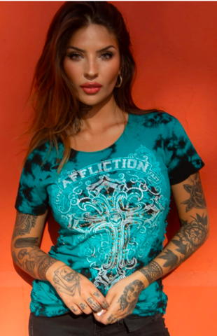 Футболка AFFLICTION SAINT GERMAIN
