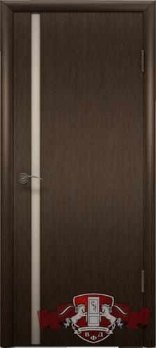 8ДГ4 ТРИПЛЕКС белый, Дверь межкомнатная,Владимирская Фабрика Дверей