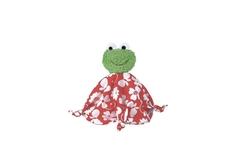 Мягкая игрушка Кате Крузе (Kathe Kruse) Лягушка Шнуффи (пальчиковый театр)