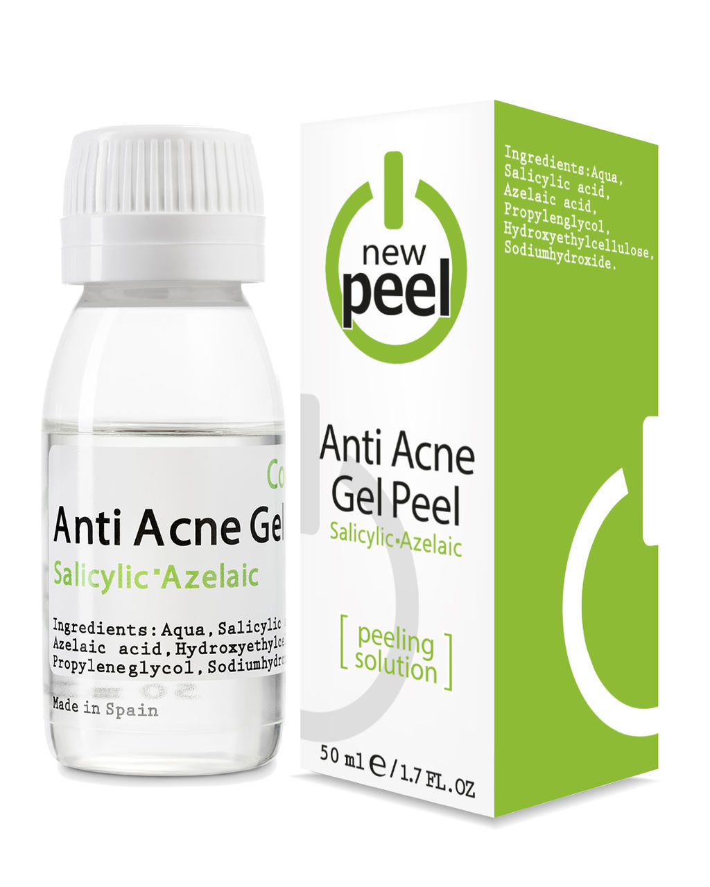 Анти-акне пилинг / NEW PEEL Anti-Acne Peel, 50 ml
