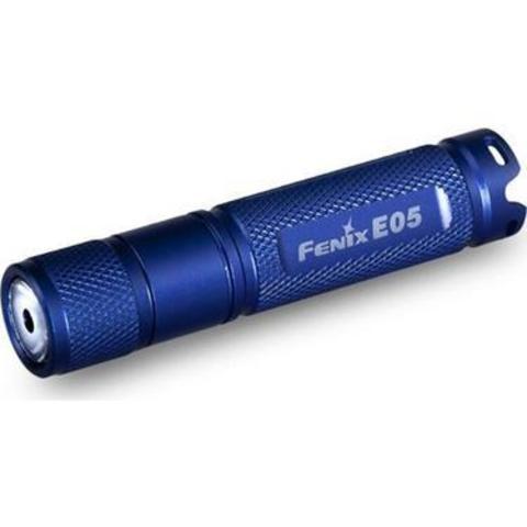 Фонарь Fenix E05 85lm Синий