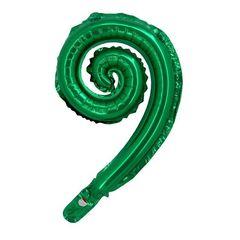 К Мини-фигура, Спираль, Зеленый, 17''/43 см, 5шт.