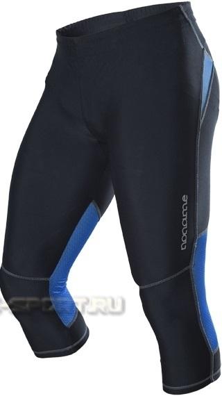 Женские беговые капри Noname Capri o-tights 11, черно-синие