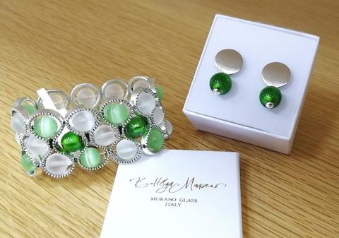 Комплект Satinato Seleste Rotondo Emerald