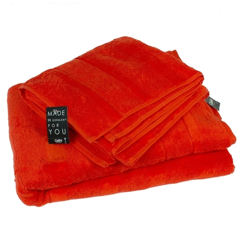 Полотенце 50x100 Cawo Noblesse 1002 красное