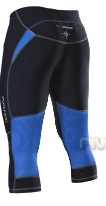 Женские беговые капри Noname Capri o-tights 11, черно-синие фото
