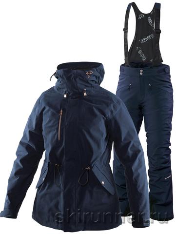 Тёплый горнолыжный костюм Beata Zip-In Jacket Poppy Blue 16-17 женский