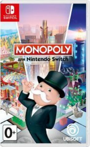 Nintendo Switch Monopoly (русская версия)