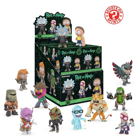Фигурка Funko Mystery Minis: Rick  Morty Series 2 (1шт.) 29235