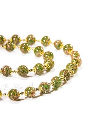 Ожерелье Amato зеленое